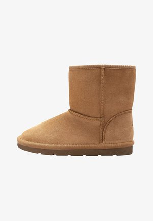 SHORT PULL ON BOOTS - Winter boots - tan