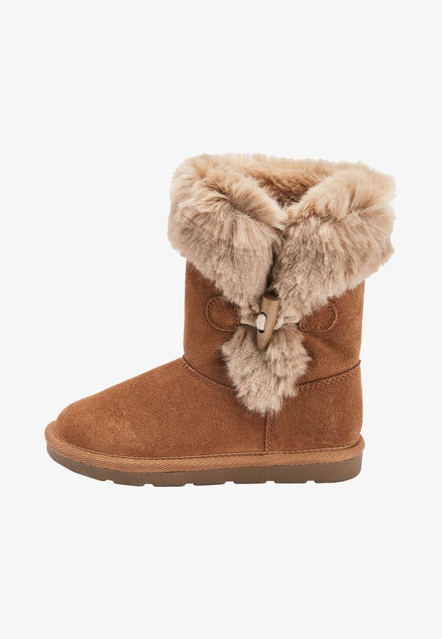 TAN TOGGLE PULL-ON BOOTS (OLDER) - Vinterstøvler - brown