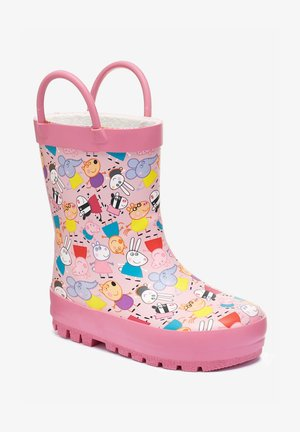 PINK PEPPA PIG WELLIES (YOUNGER) - Bottes en caoutchouc - pink