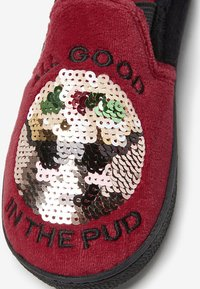 Next - CHRISTMAS PUDDING  - Chaussons - red - 3