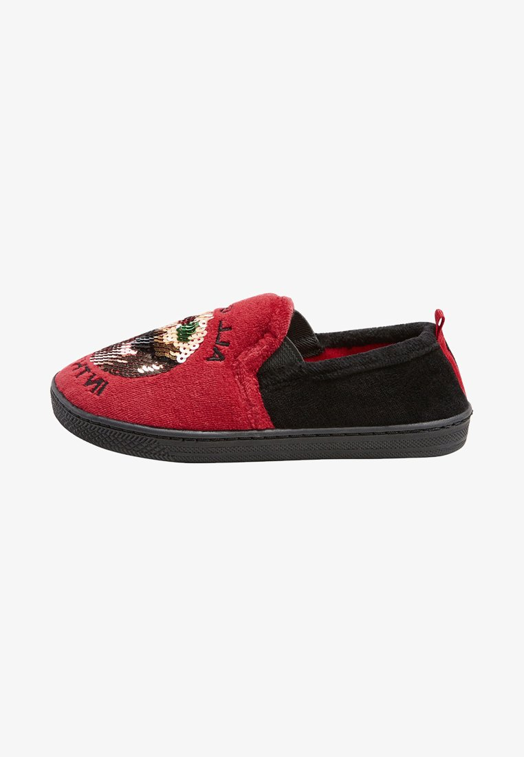 Next - CHRISTMAS PUDDING  - Chaussons - red