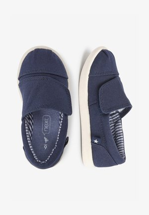 GREY ESPADRILLES (YOUNGER) - Touch-strap shoes - blue