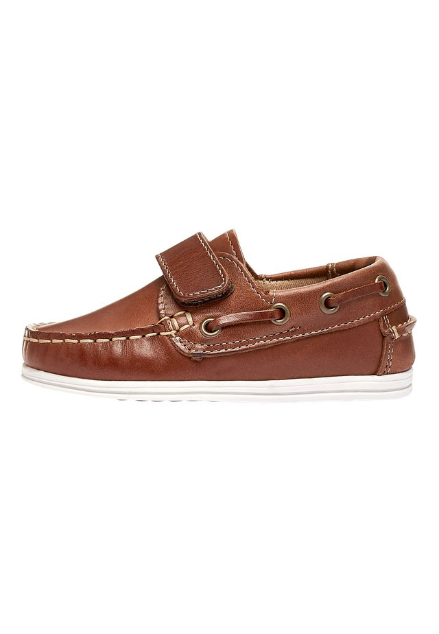 CHOCOLATE BOAT SHOES (YOUNGER) - Boat shoes - brown