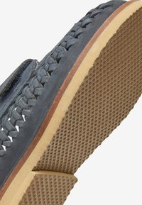 Next - NAVY LEATHER WOVEN LOAFERS (YOUNGER) - Loafers - blue - 4