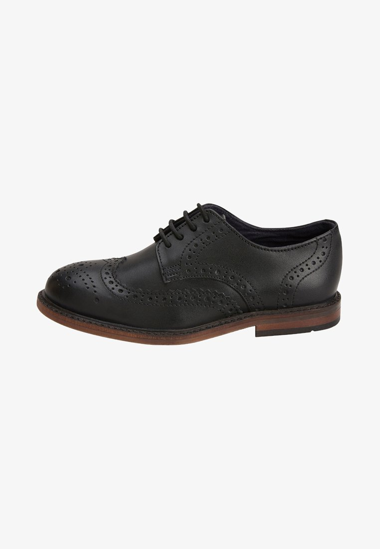 Next - Smart lace-ups - black