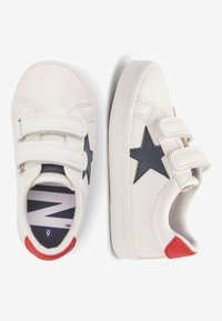 Next - BLACK DOUBLE STRAP STAR TRAINERS (YOUNGER) - Sneakers laag - white - 1
