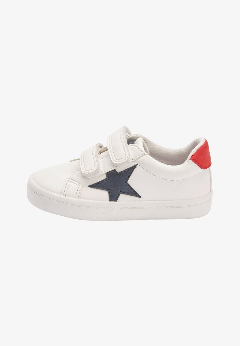 Next - BLACK DOUBLE STRAP STAR TRAINERS (YOUNGER) - Sneakers laag - white