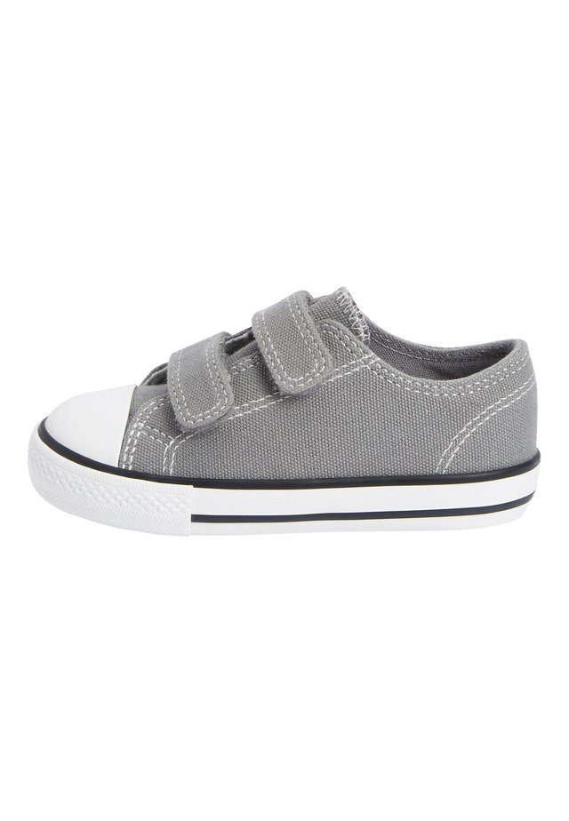 GREY TOUCH FASTENING SHOES (YOUNGER) - Baby shoes - grey