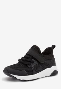 Next - NAVY ELASTIC LACE TRAINERS (OLDER) - Tenisky - black - 2