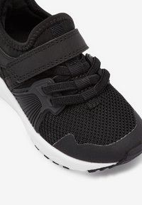 Next - NAVY ELASTIC LACE TRAINERS (OLDER) - Tenisky - black - 4
