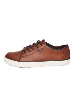 TAN LACE-UP SHOES (OLDER) - Tenisky - brown