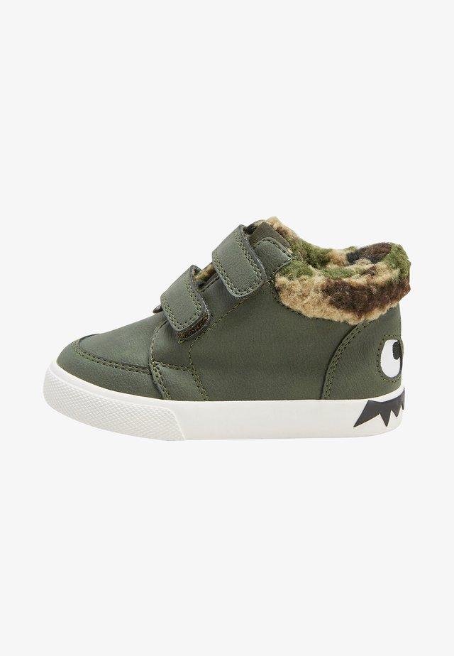 Lær-at-gå-sko - green