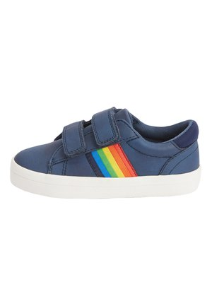 GREY RAINBOW TAPE DOUBLE STRAP SHOES (YOUNGER) - Sneakers laag - blue