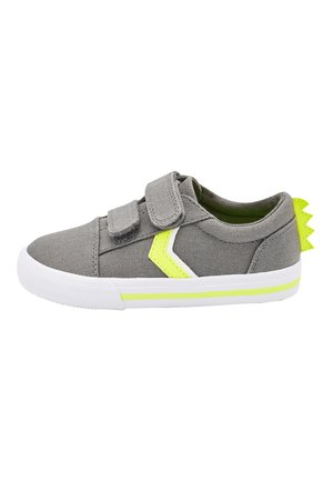 GREY DINOSAUR SPIKE TOUCH FASTENING SHOES (YOUNGER) - Sneakers laag - grey