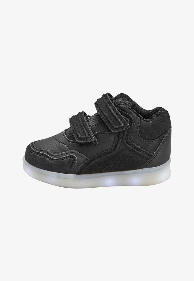Sko med burretape - black