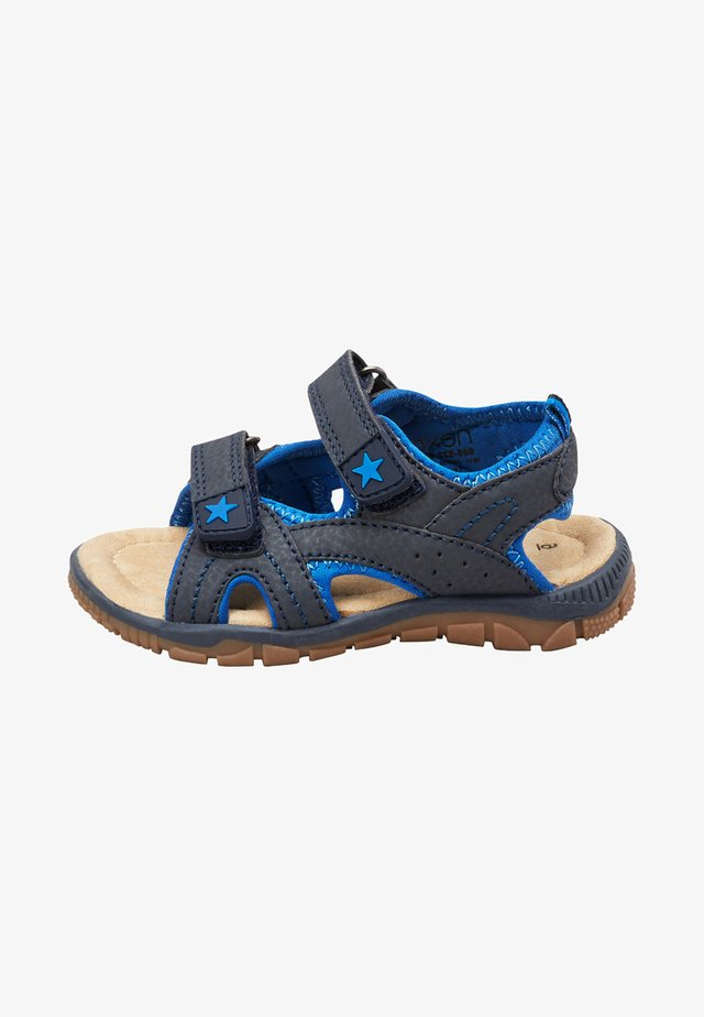 NAVY TWO STRAP SANDALS (YOUNGER) - Sandalen - blue