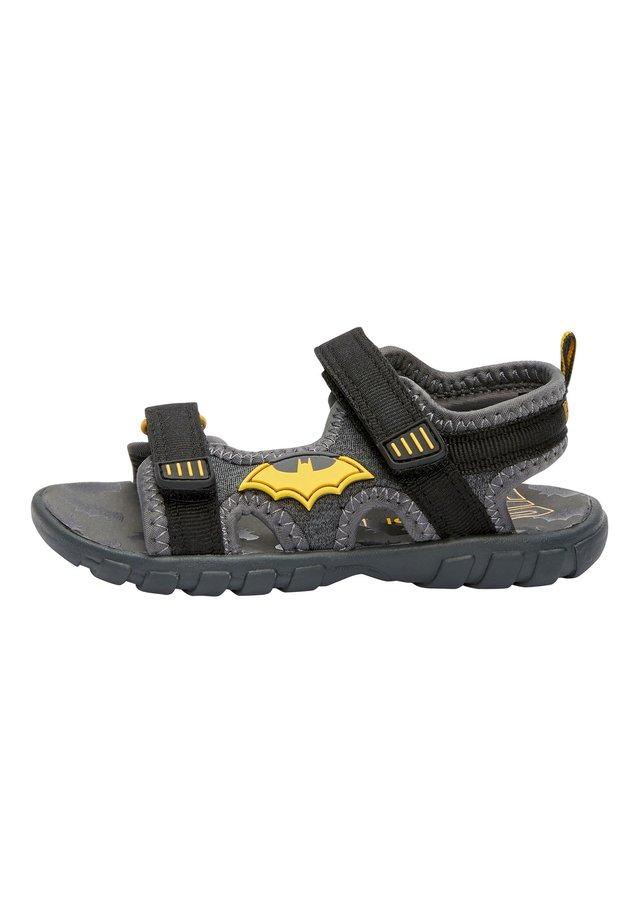BLACK BATMAN® TREKKER SANDALS (YOUNGER) - Sandały trekkingowe - black
