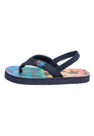 RAINBOW STAR - T-bar sandals - blue