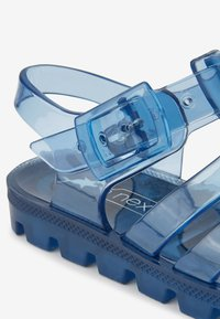 Next - LIME JELLY SANDALS (YOUNGER) - Pool slides - blue - 4