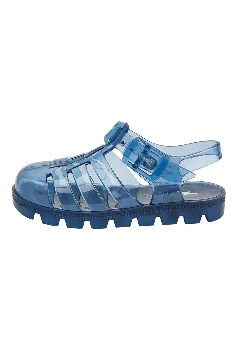 Next - LIME JELLY SANDALS (YOUNGER) - Pool slides - blue
