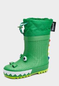 Next - CROCODILE - Regenlaarzen - green - 1