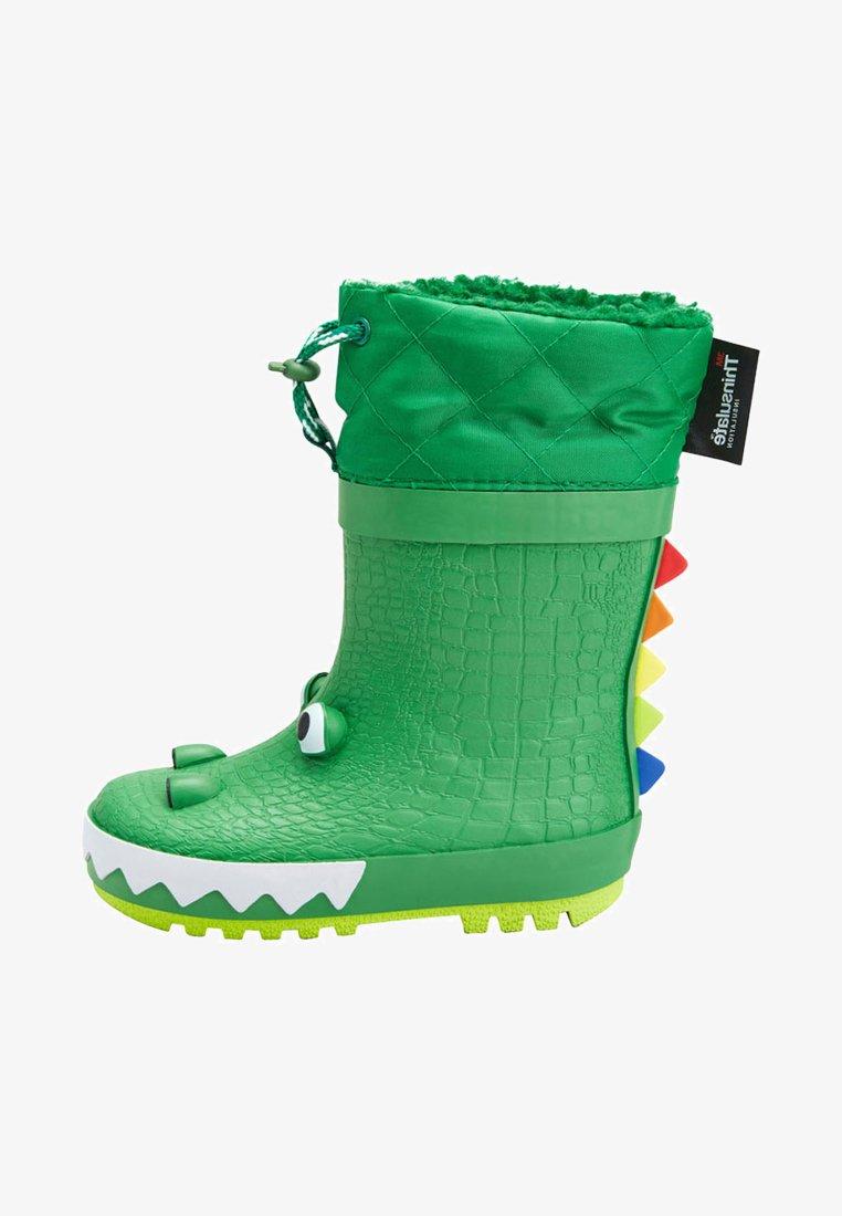 Next - CROCODILE - Regenlaarzen - green