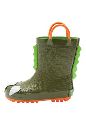 KHAKI CLAW WELLIES (YOUNGER) - Wellies - green