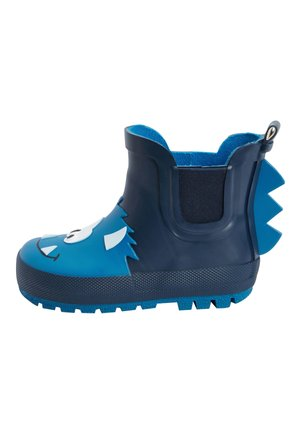 BLUE MONSTER CHELSEA BOOT WELLIES (YOUNGER) - Wellies - blue