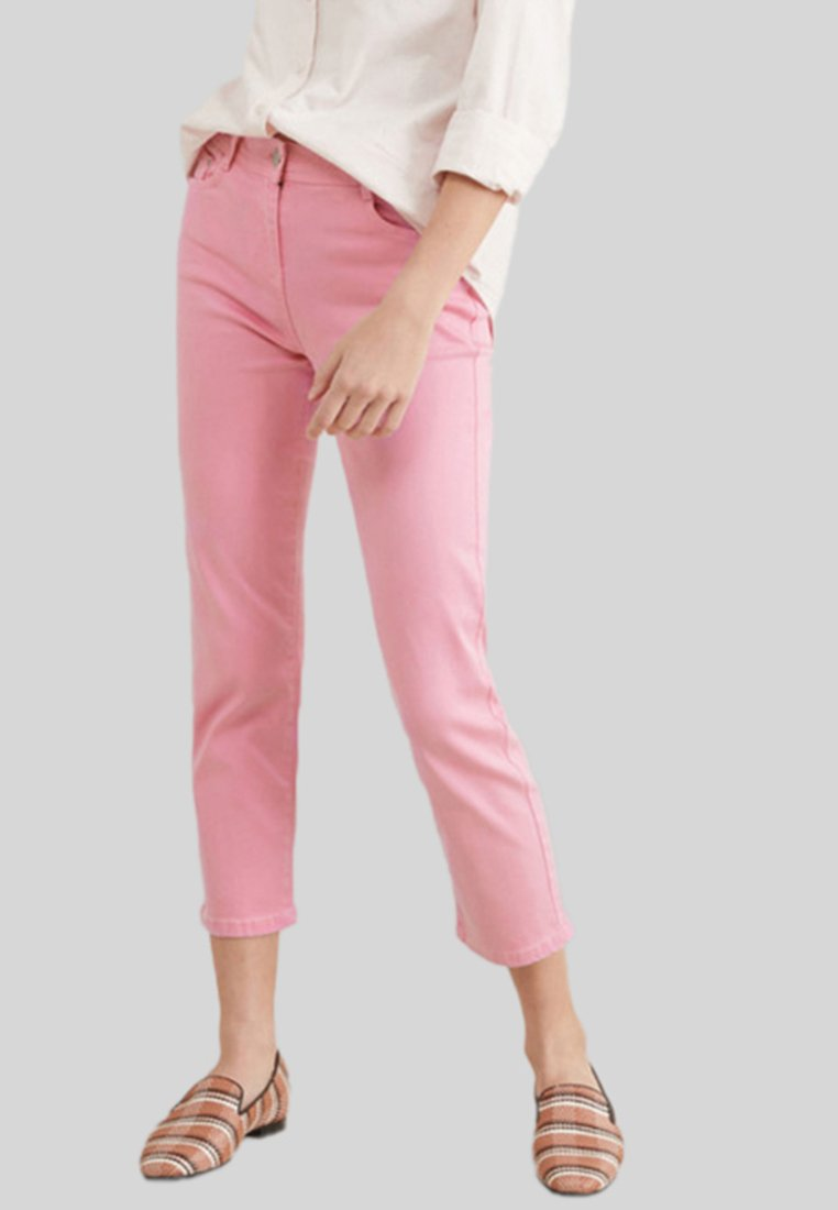 Next - SOFT TOUCH  - Jeans Straight Leg - pink