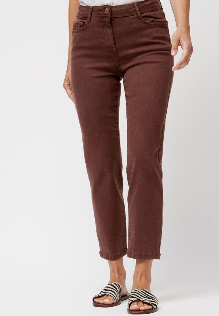 Next - SOFT TOUCH  - Straight leg jeans - brown
