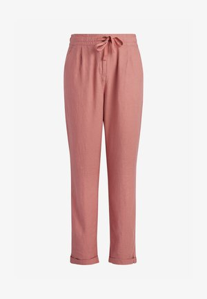 Trousers - mottled pink