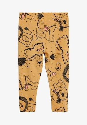 MINK LEGGINGS (3MTHS-7YRS) - Leggings - Trousers - yellow