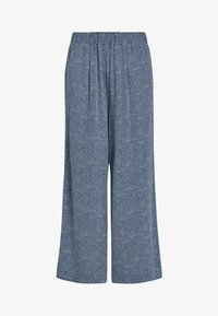 Next - NAVY PRINTED CULOTTES - Trousers - blue - 3