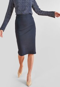 Next - Pencil skirt - blue - 0