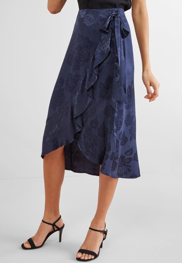 Next - A-line skirt - blue