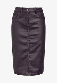 Next - Pencil skirt - dark brown - 3
