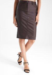 Next - Pencil skirt - dark brown - 0