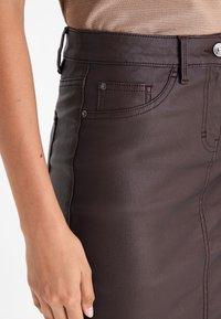 Next - Pencil skirt - dark brown - 2