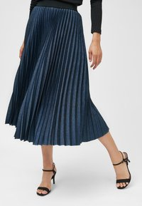 Next - Pleated skirt - blue - 0