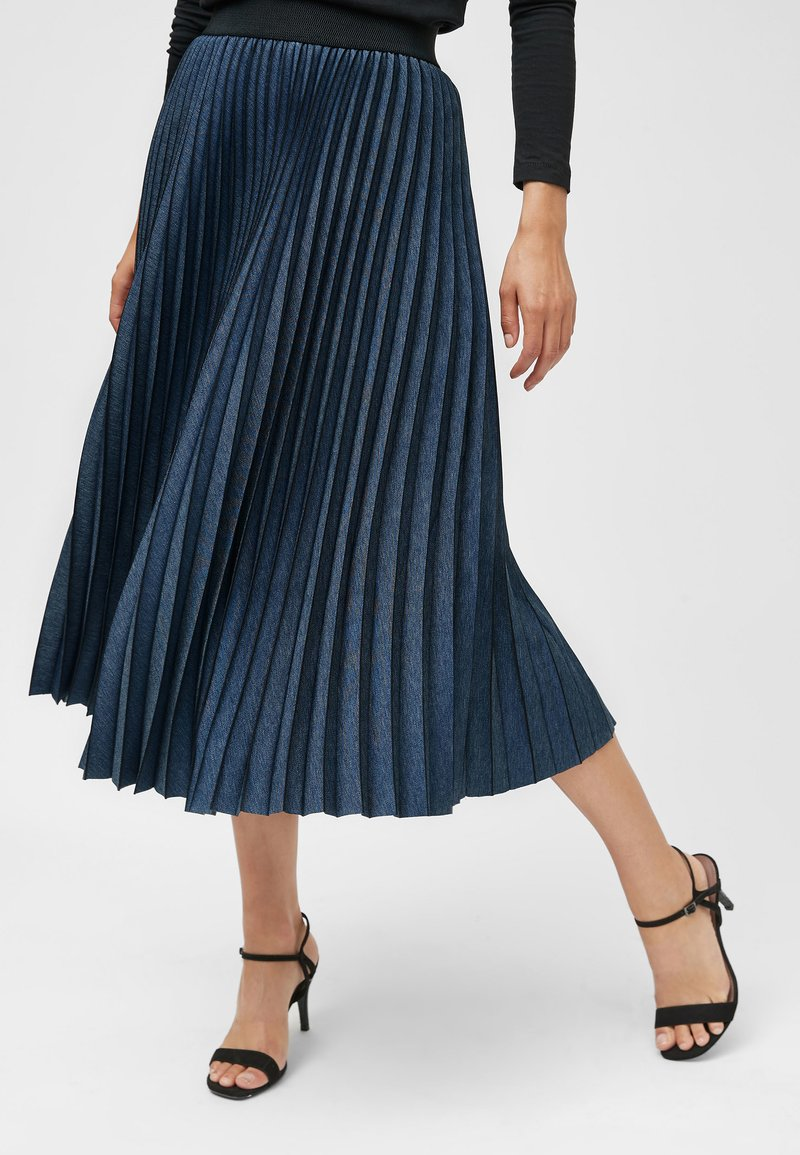 Next - Pleated skirt - blue