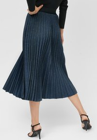 Next - Pleated skirt - blue - 1