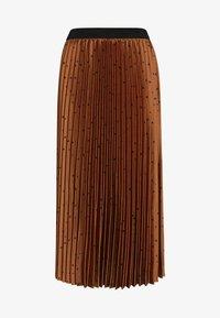 Next - Pleated skirt - orange - 4