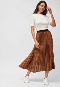 Next - Pleated skirt - orange - 1