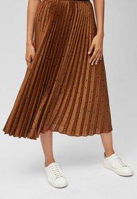 Next - Pleated skirt - orange - 0