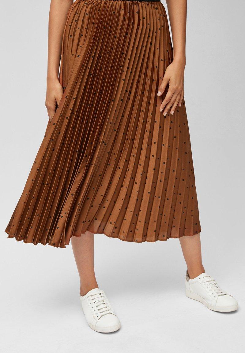 Next - Pleated skirt - orange
