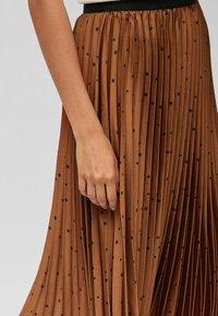 Next - Pleated skirt - orange - 3