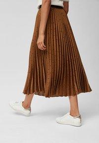 Next - Pleated skirt - orange - 2