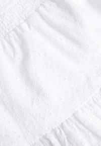 Next - MONOCHROME SPOT RUFFLE SKIRT (3-16YRS) - A-line skirt - white - 2