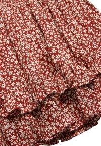 Next - MONOCHROME SPOT RUFFLE SKIRT (3-16YRS) - A-line skirt - red - 2