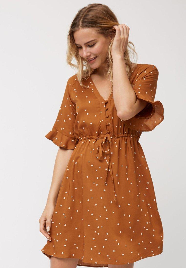 Next - TEA  - Day dress - brown
